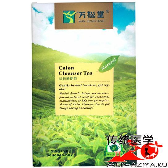 Травяной чай для очищения кишечника (Colon Cleanser Tea)